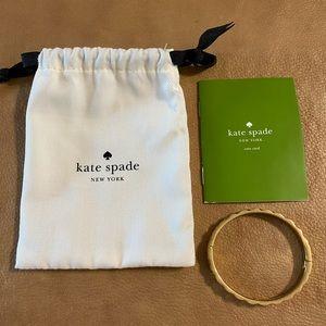 Kate Spade gold fashion bracelet